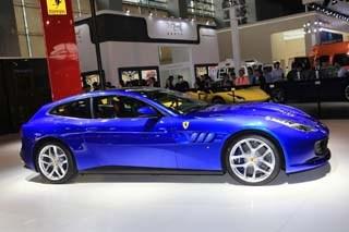 法拉利GTC4Lusso T国内上市 售358.8万元