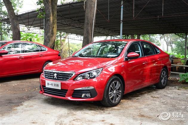 小清新风格 试驾标致全新308 1.2T车型