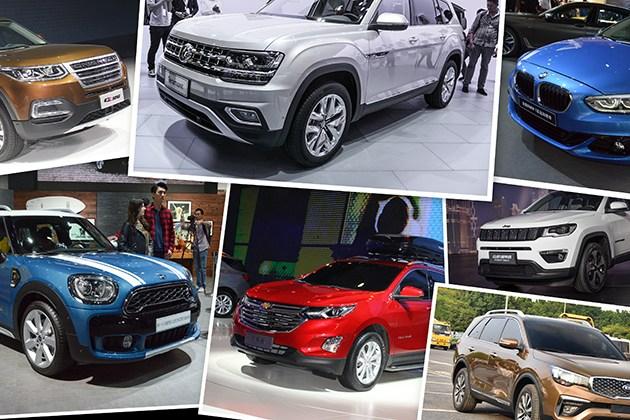 广州车展后将上市新车盘点 SUV仍为主力