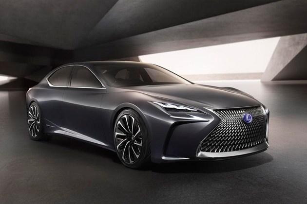雷克萨斯新一代LS或将搭载氢燃料电池
