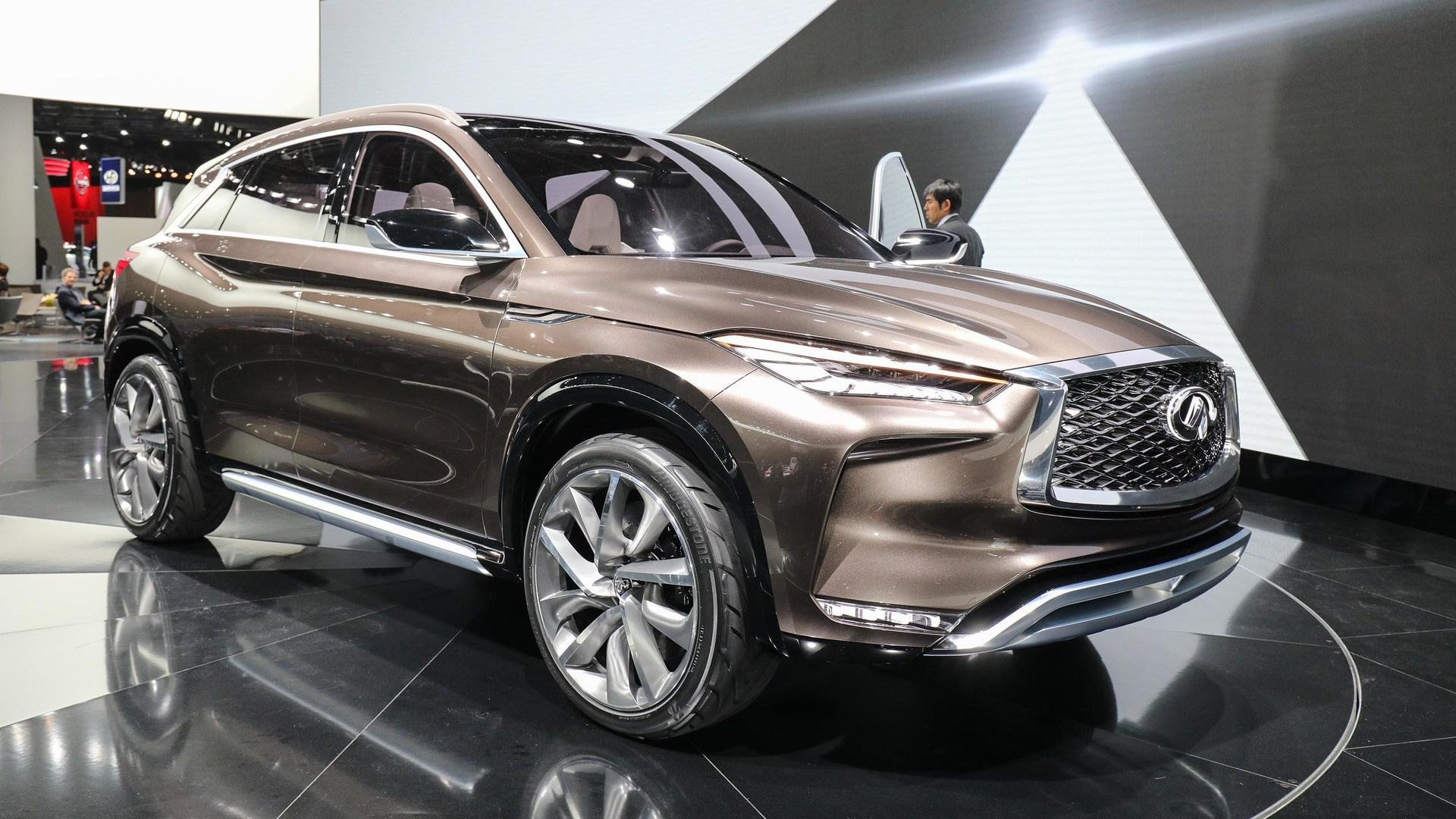 QX50概念车图解 新设计/新科技/新动力