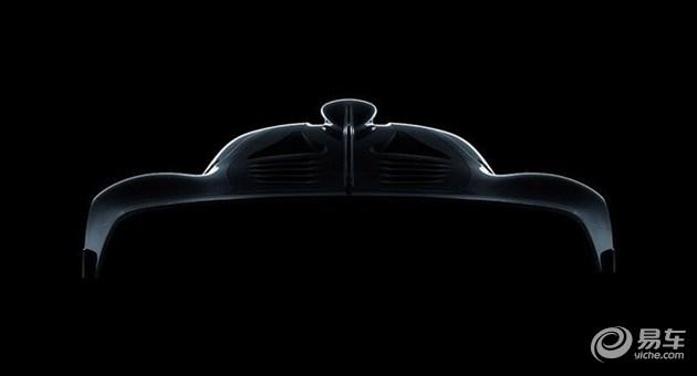 AMG混动超跑今年9月首发 功率超1000马力