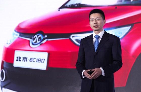 老将陆皓加盟 北汽新能源品牌战略加速