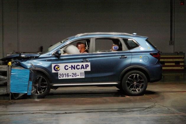 2016年第四批C-NCAP成绩解析 9款车获五星