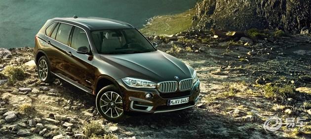 BMW X5 SUV强劲的性能将 展露无疑