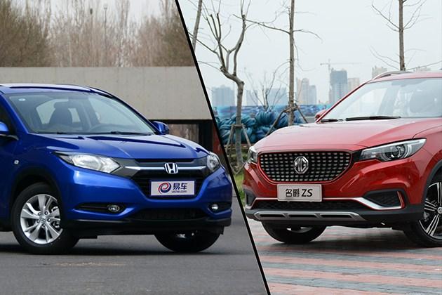 名爵ZS对比本田缤智 年轻人的SUV如何选?