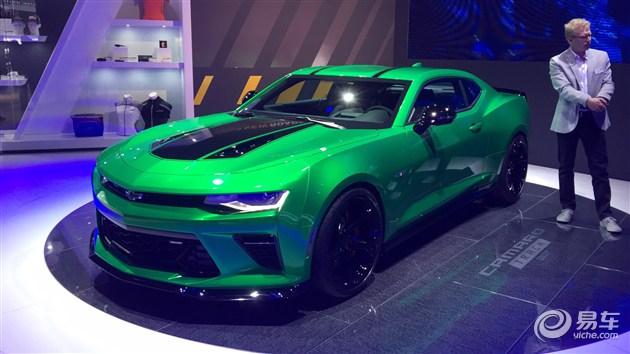 科迈罗Track Concept日内瓦车展首发