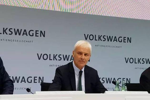 大众汽车集团CEO穆伦:重回正轨 加速转型