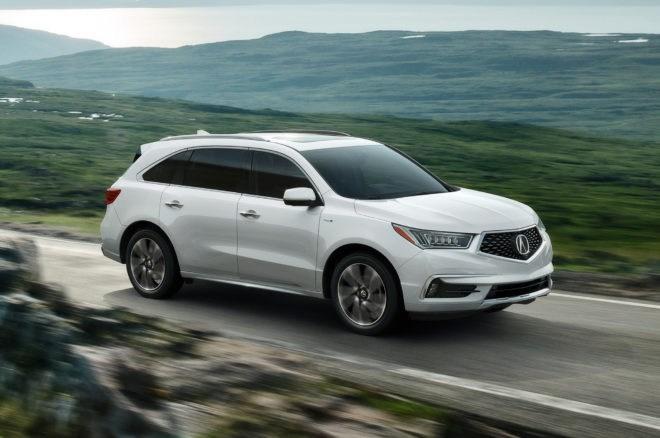 讴歌MDX中期改款4月首发纽约车展 推出混合动力版本