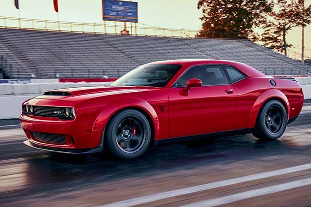 曝道奇Challenger SRT Demon渲染图 纽约车展首秀