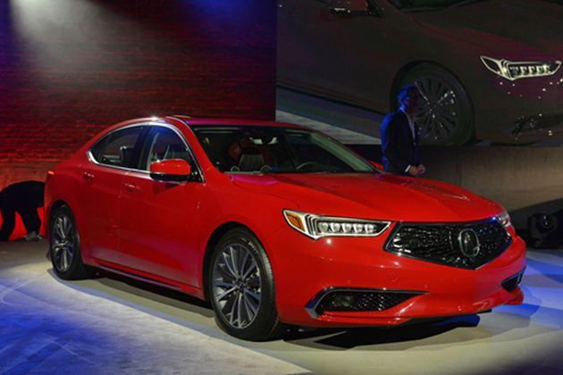 讴歌新款TLX纽约车展发布 造型更加动感