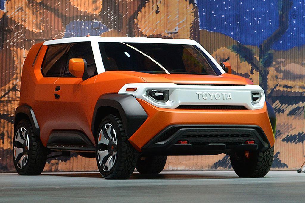 丰田FT-4X概念车图解 新式城市硬派SUV