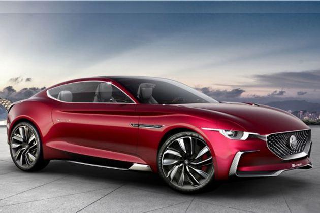MG E-motion概念车更多官图发布 百公里加速小于4秒