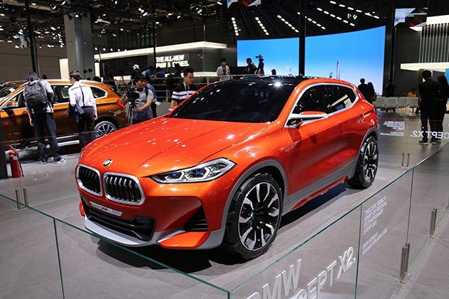 宝马X2概念车亮相上海车展 亚洲首发