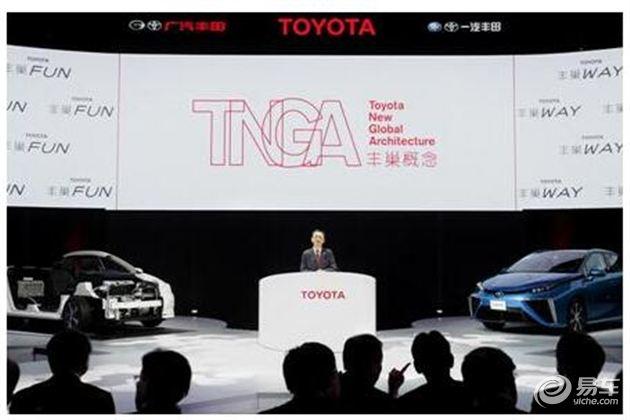 放眼未来,丰田以TNGA引领产业变革