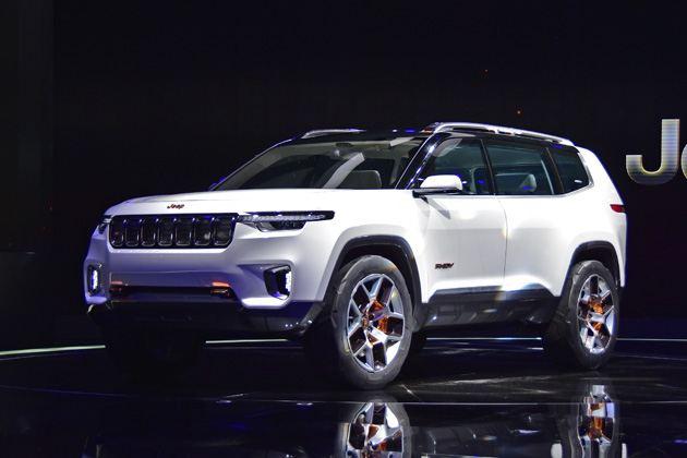 Jeep云图概念车图解