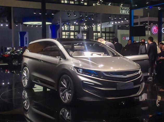 吉利首款MPV概念车首发亮相 悬浮式车顶/造型科幻