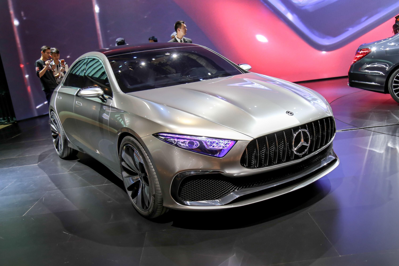 图解奔驰Concept A Sedan