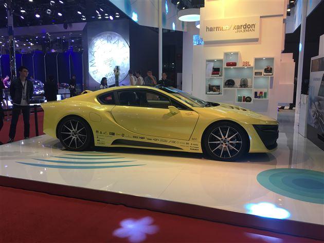 Rinspeed Etos概念车上海车展发布 基于宝马i8打造
