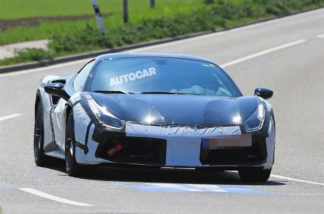 法拉利488 GTO谍照曝光 百公里加速小于2.7秒