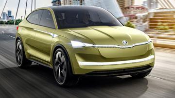 斯柯达首款纯电动车Vision E