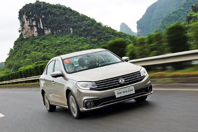 桂林试驾东风风行新款景逸S50  内外高颜值 驾控品质有优化