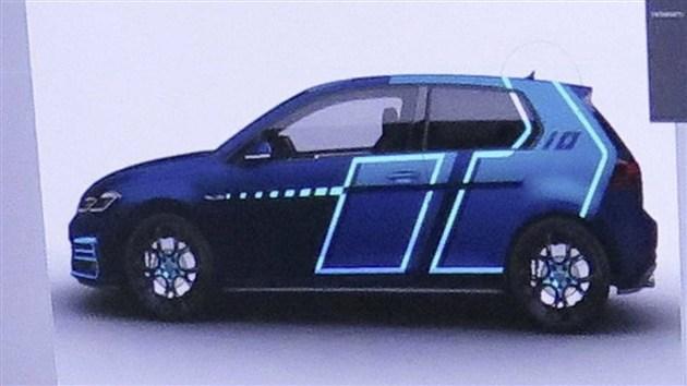 高尔夫GTI特别版秋水会亮相 采用全新蓝色涂装