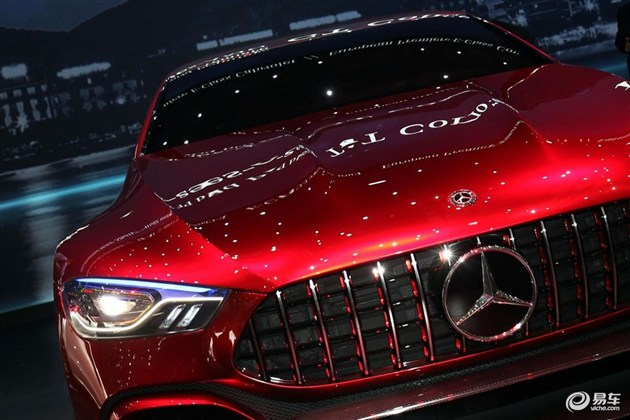 AMG GT概念车参展CES 6月5日亮相国内