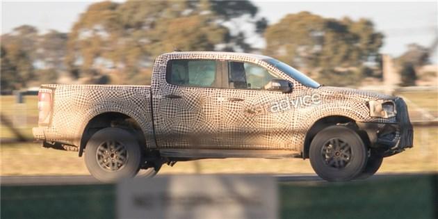 福特新款Ranger路试谍照曝光 或将2019年推出