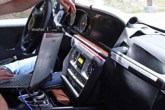 全新AMG G63内饰曝光 E级设计元素/或2019年发布