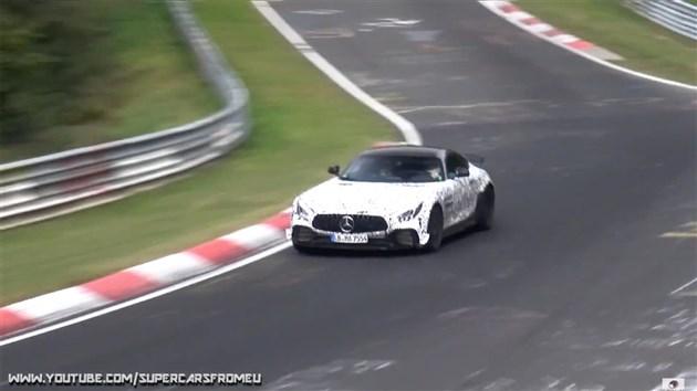 奔驰AMG GT Black Series谍照 或搭载4.0T发动机