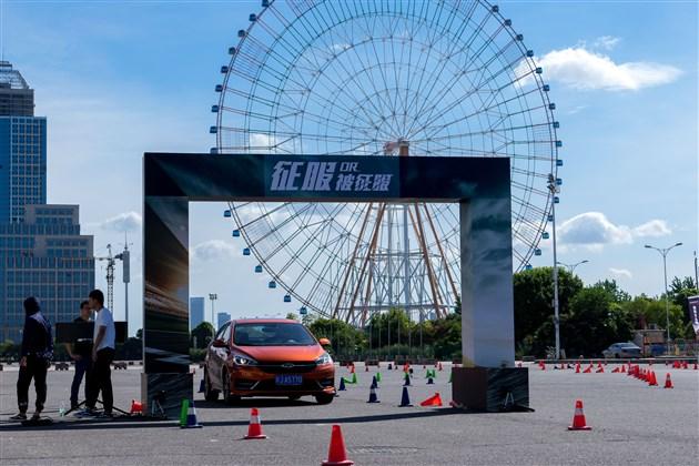 听说小艾强劲的一面征服南昌城-奇瑞艾瑞泽5 sport挑战赛
