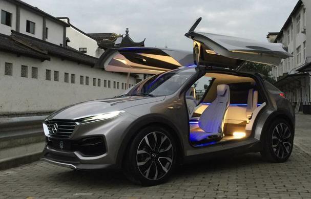 合众新能源首款概念车亮相 量产版或2018年底上市