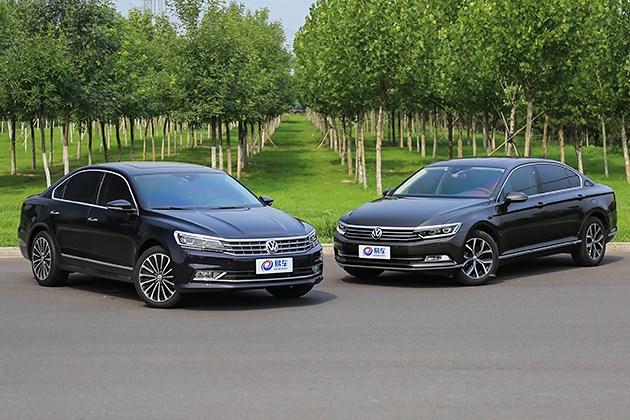 这两车到底有何区别 全新帕萨特对比全新迈腾
