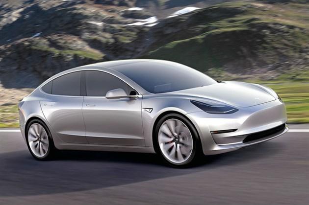 特斯拉Model 3概念图