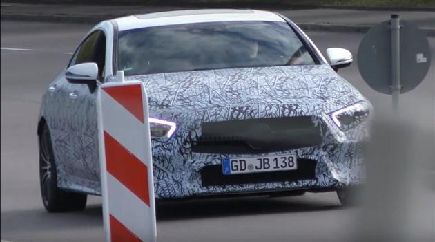 新款奔驰CLS 63谍照曝光 或搭V8动力/有望法兰克福车展亮相