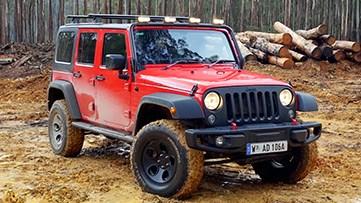 Jeep牧马人 霸气涉水越野