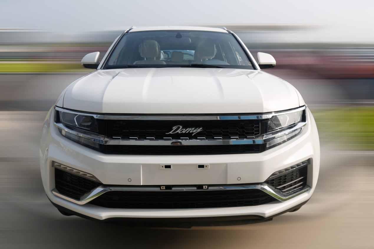 大迈X7 8AT车型将2017成都车展亮相 旋钮换挡设计