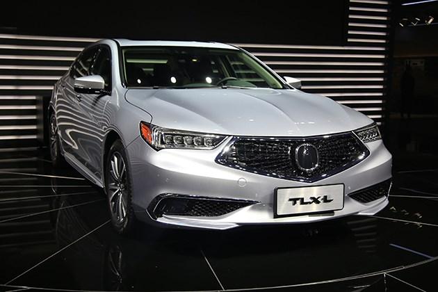图解广汽讴歌TLX-L 国产讴歌轿车来了!