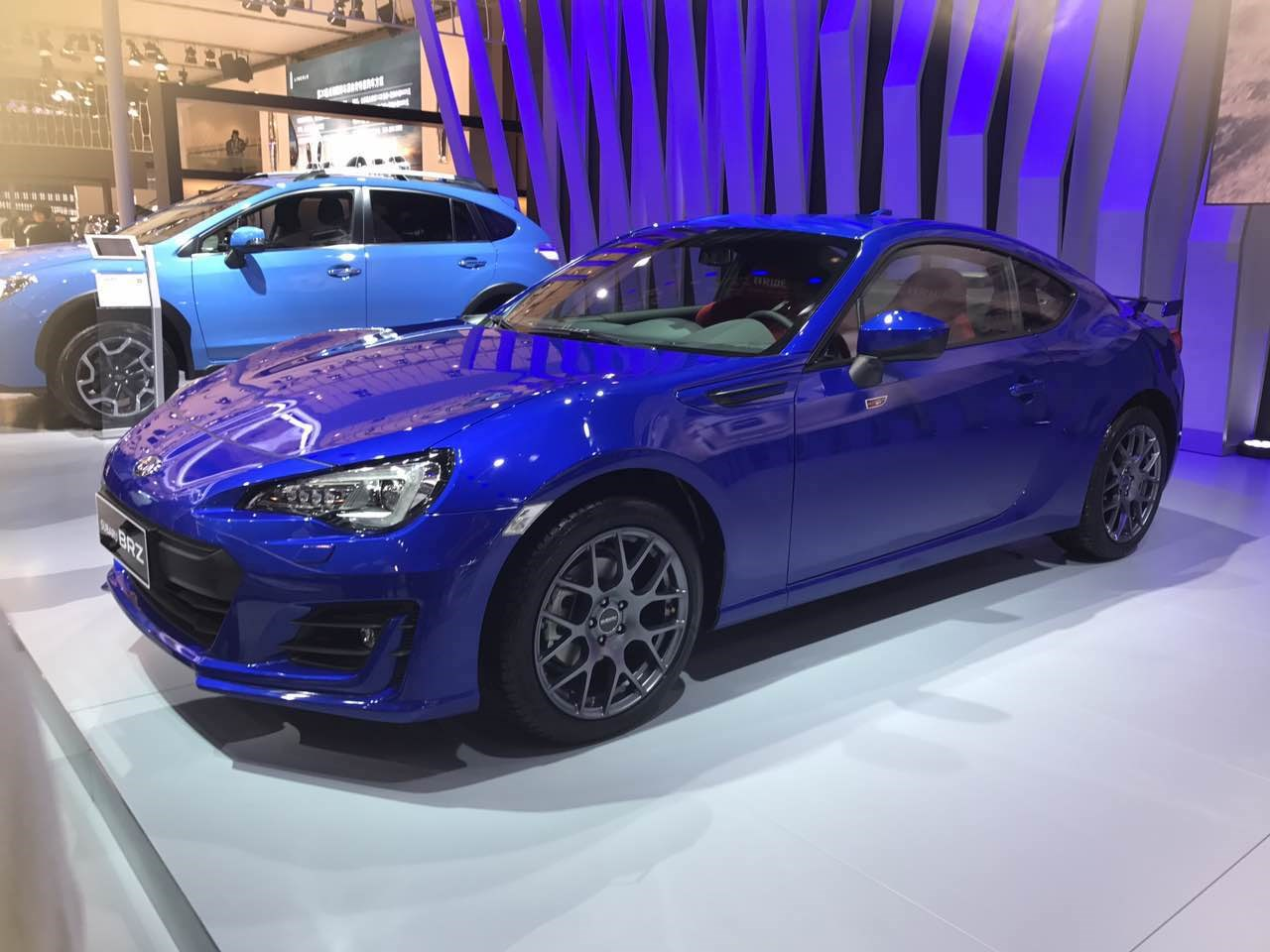 斯巴鲁发布BRZ成都地区限量版车型 配置略有升级
