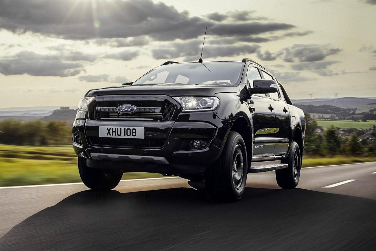 福特推Ranger皮卡黑色限量版 9月12日亮相法兰克福