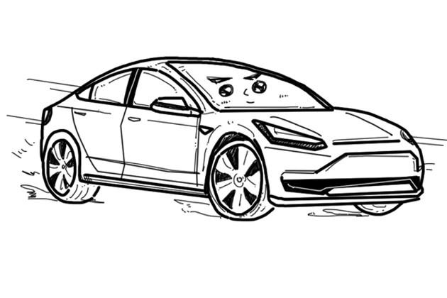"""""""极简""""纯电动车 关于特斯拉的一些小秘密"""