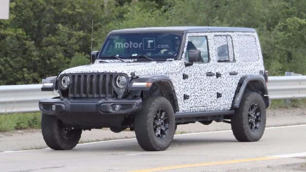 新款Jeep牧马人Rubicon无伪谍照曝光 或洛杉矶车展亮相
