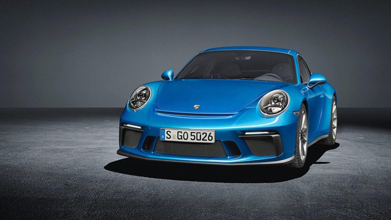 911 GT3特别版官图发布 隐藏式扰流板/法兰克福车展亮相