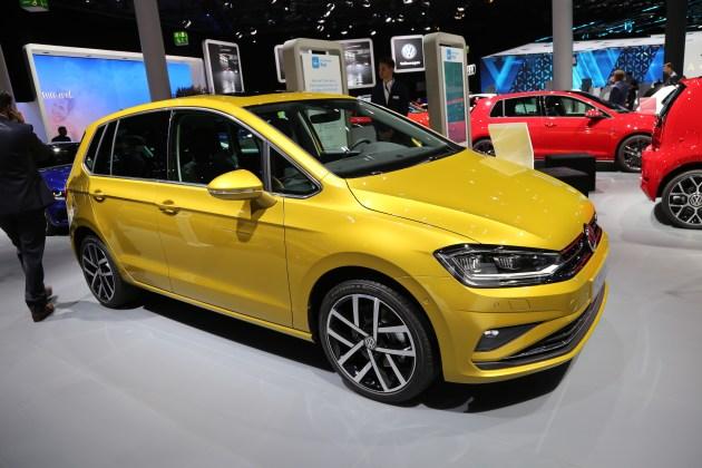 2017法兰克福车展:新款大众高尔夫Sportsvan亮相