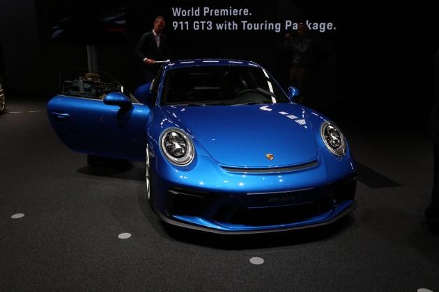 2017法兰克福车展:保时捷911 GT3 Touring Package