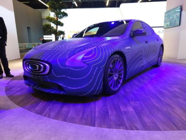 2017法兰克福车展:昶洧TP-01原型车发布