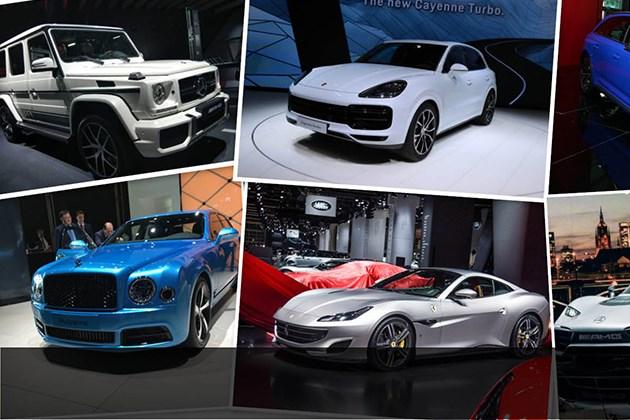 2017法兰克福车展性能车/豪车汇总 AMG Project One领衔