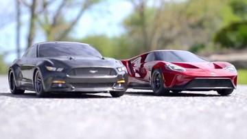 RC福特GT/野马GT 赛道竞速