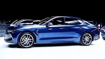 捷恩斯G70发布 中型豪华车